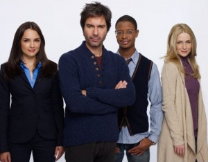 Eric McCormack and team of 'Perception' (TNT)
