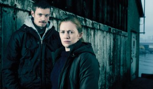 season two: Holder (Joel Kinnaman) and Linden (Mireille Enos)
