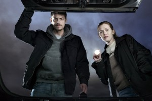 On Season III of THE KILLING, Holder and Linden chase a serial killer.