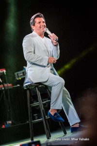 Modern Talking's Thomas Anders performs his 80s pop hits