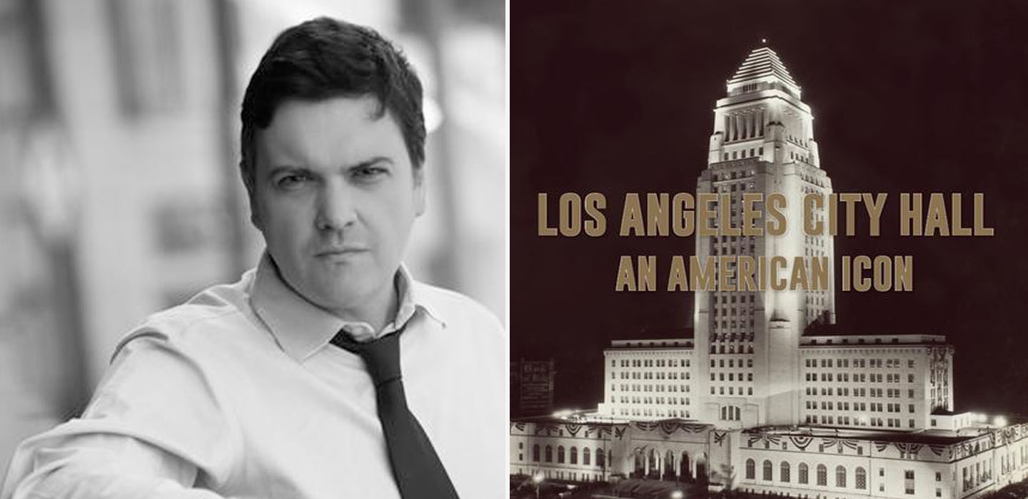"""Los Angeles City Hall An American Icon"" was researched and written by English-American author Stephen Gee and is available now."